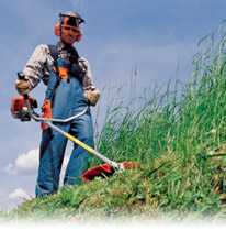 Mow Correctly with STIHL Brushcutters
